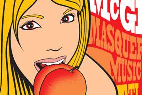 "Umphrey's ""Eat a Peach"" Poster"
